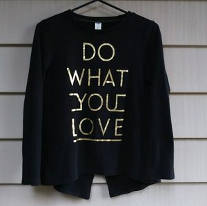 Do what you love long sleeve sweater XL
